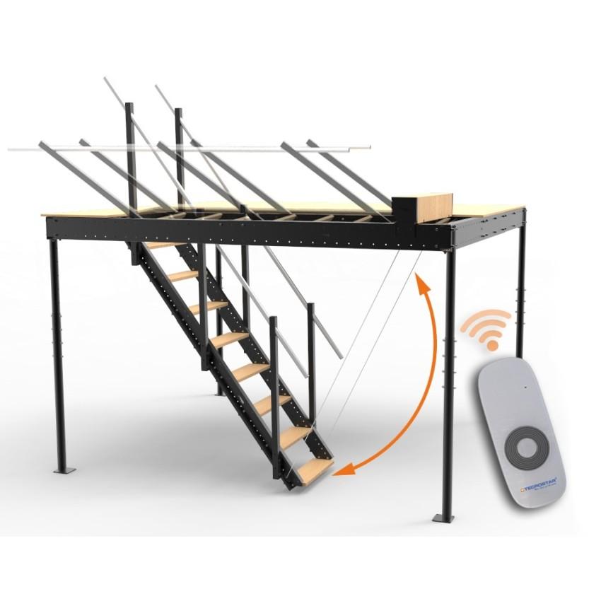 Kit de elvación de escalera con mando a distacia