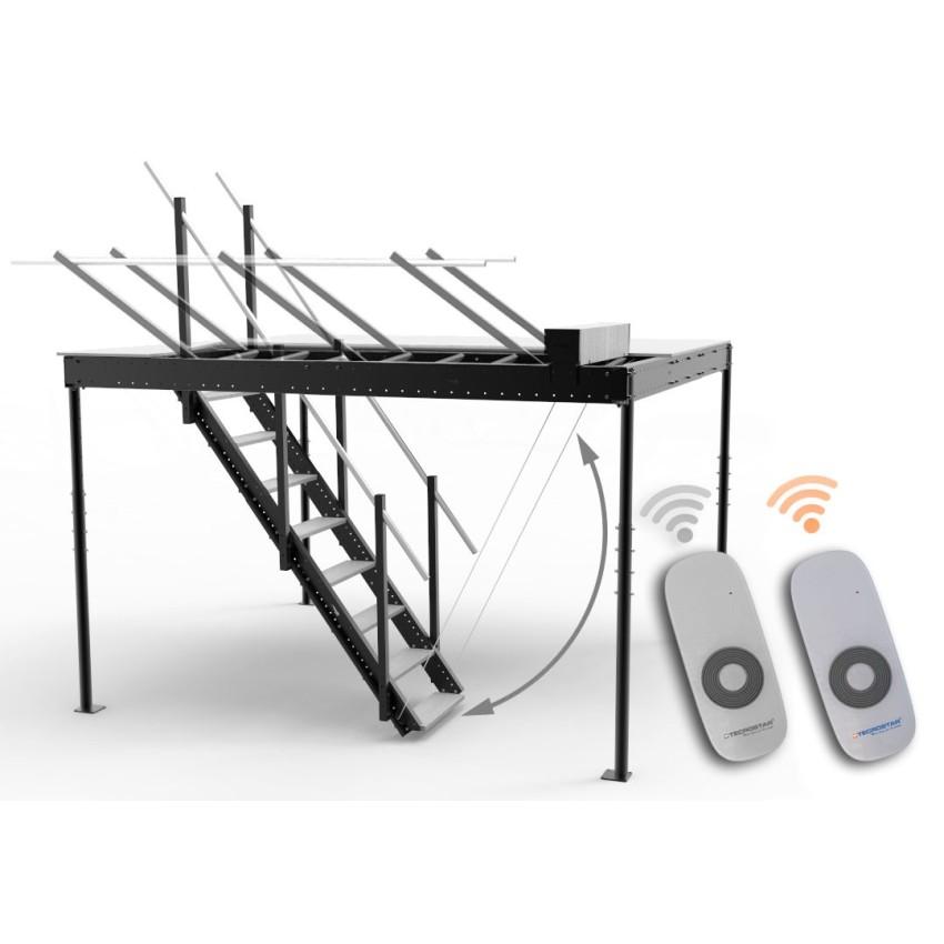 Télécommande supplémentaire pour être employée avec le kit de levage électrique de l'escalier.