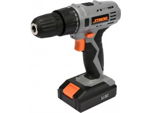 Drill driver with battery