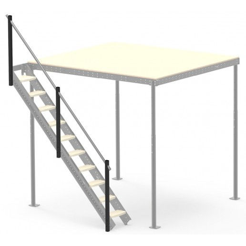 Barandilla para escalera lateral