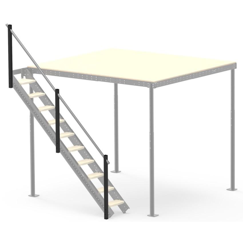 Geländer für Seitenleiter