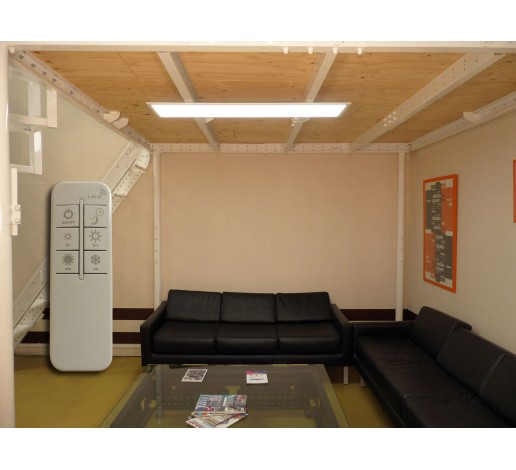 LED panel with remote control